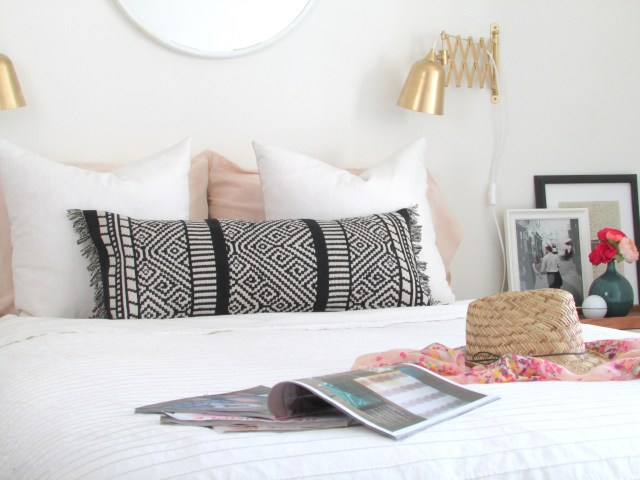 Boho Lumbar Pillow DIY | Francois et Moi