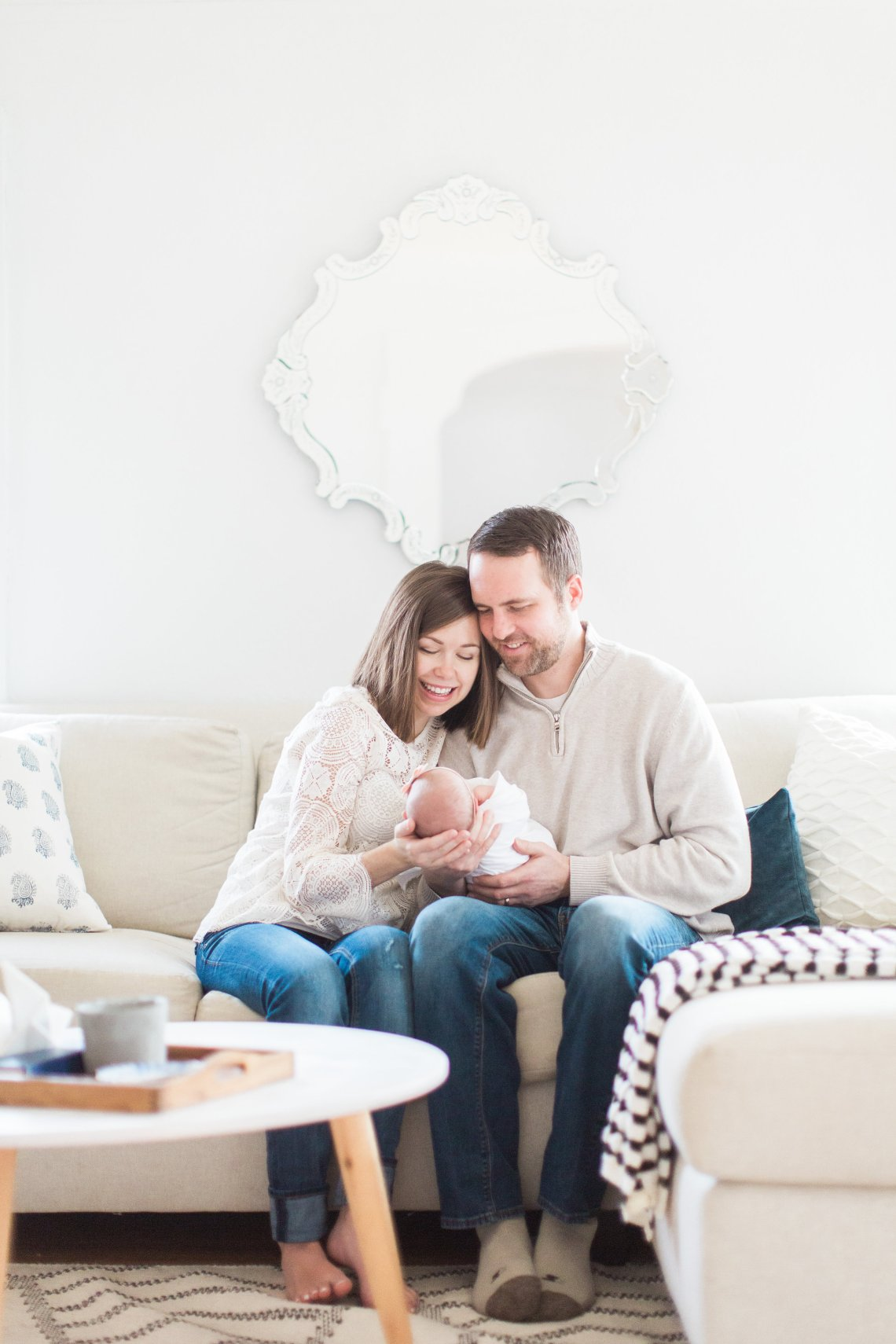 A glimpse inside our life after Sylvia was born + a newborn photographer checklist for finding the right person to capture your family. Click for details!
