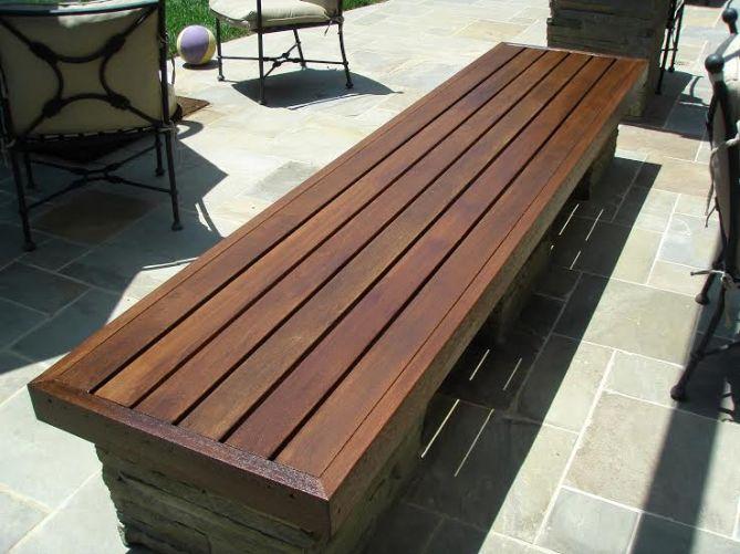 wood bench carpentry manhattan beach