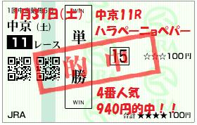 中京11Rハラペーニョペパー