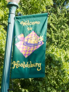 Healdsburg welcome!