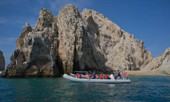 Water tours are easily available from the Cabo San Lucas waterfront.
