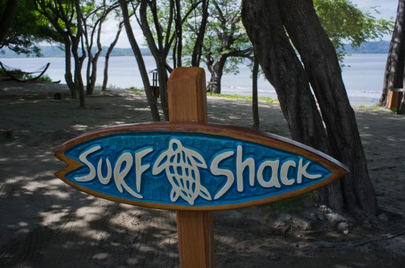 The Surf Shack run by the Tropicsurf pros.