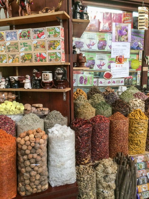 The fascinating and aromatic Spice Souk in old Dubai is a reminder of centuries of trade, even among regional rivals.
