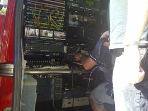 Rogers TV's mobile control room