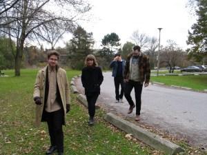 Thom Gill, Felicity Williams, Bram Gielen, Evan Tighe