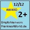 Empfohlen von Frankies-World.de verrückte Ohrringe