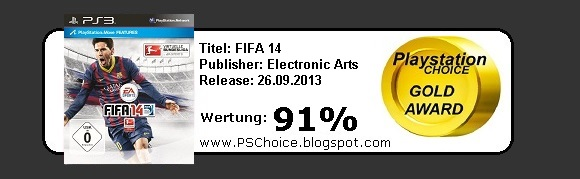 Fifa 14 - Die Bewertung von Playstation Choice - It´s your Choice