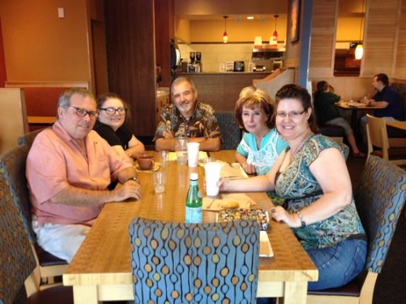 Wordsmith Salon: Dwight, Tess, Richard, Lorelei, Molly Jo