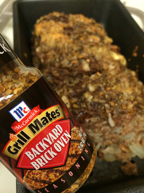The Unemployment Cookbook: Anna's Meatloaf, with McCormick's Grill Mates Backyard Brick Oven Seasonings