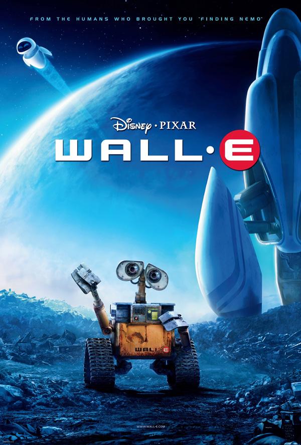 Wall-E Pixar movie poster final onesheet