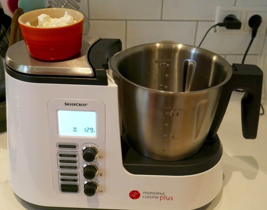 Monsieur cuisine plus test und erfahrungsbericht for Silvercrest monsieur cuisine plus