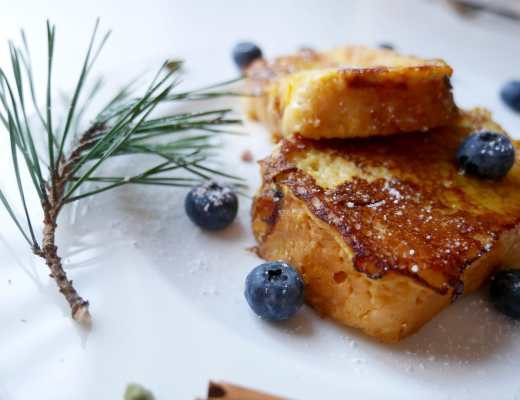french toast mit kardamon und orange