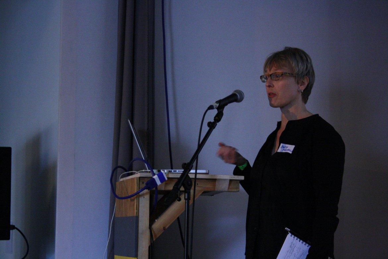 Cindy Kohtala at #sustmake workshop