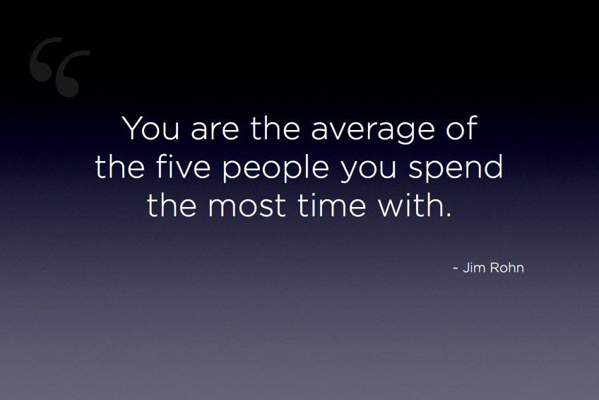 you are the average of 5 people