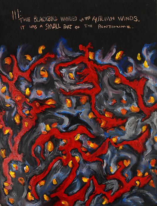 Blackbird III, 1982, by Fred Hatt