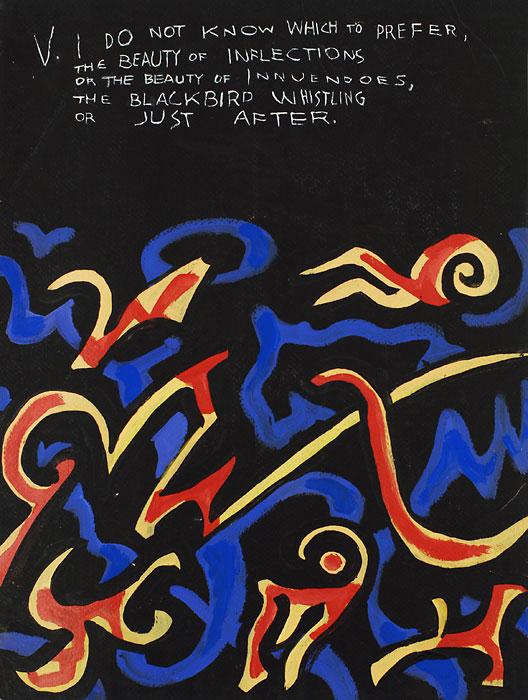 Blackbird V, 1982, by Fred Hatt