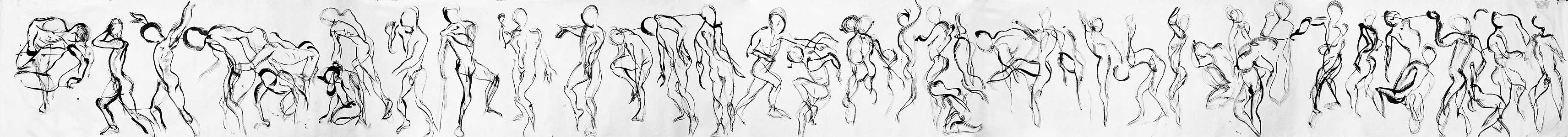 Patrick scroll, 2000, 91 cm x 1006 cm, by Fred Hatt