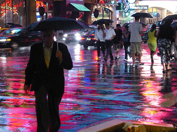 Iridescent Crosswalk, 2003, photo by Fred Hatt