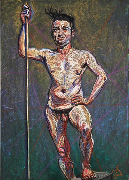 Triumphant, 2005, by Fred Hatt