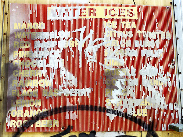 Water Ices, 2008, photo by Fred Hatt