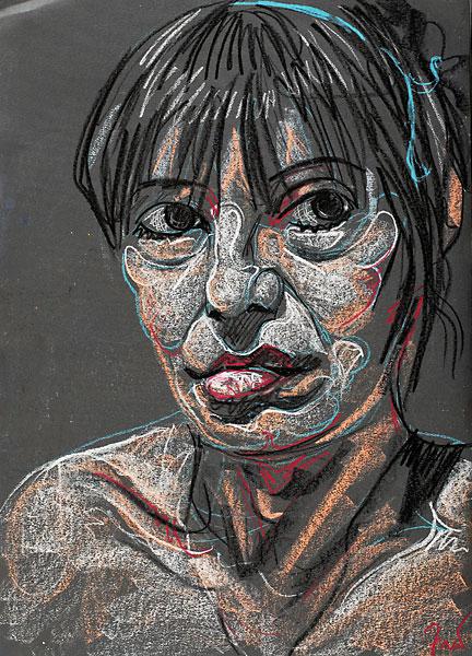 Elizabeth, 2009, by Fred Hatt