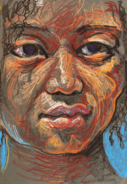 Danielle, 2009, by Fred Hatt