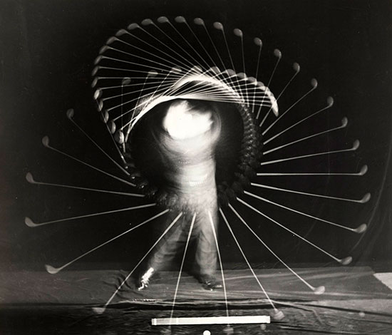 Bobby Jones Multi Flash, 1938, by Harold Edgerton