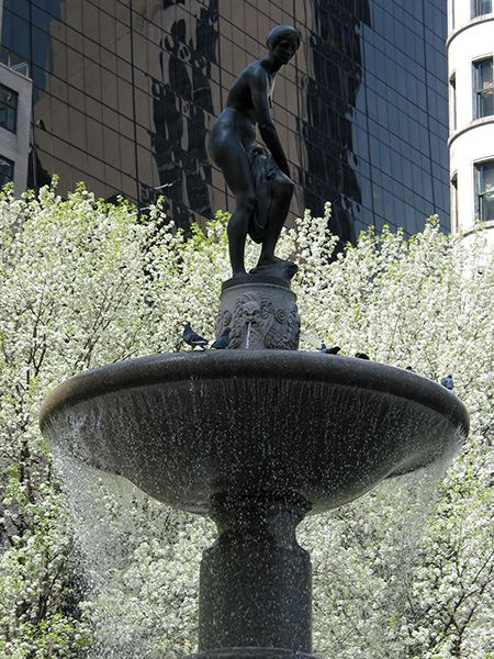 Spring Fountain, 2003, photo by Fred Hatt