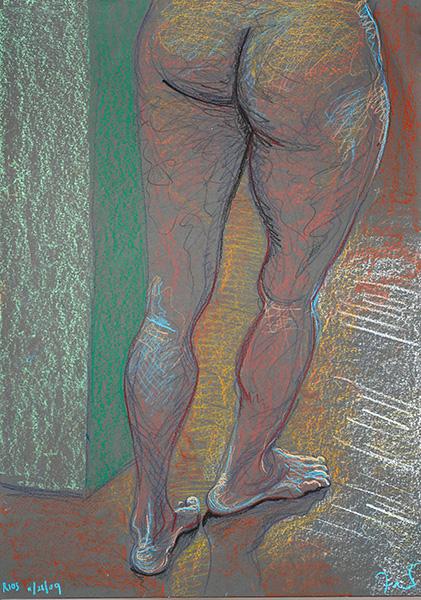Legs, 2009, by Fred Hatt