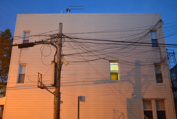 Pole and Wires, 2012, photo by Fred Hatt