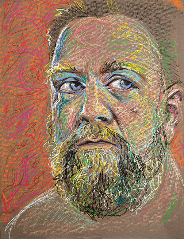 Self Portrait, 2012, by Fred Hatt