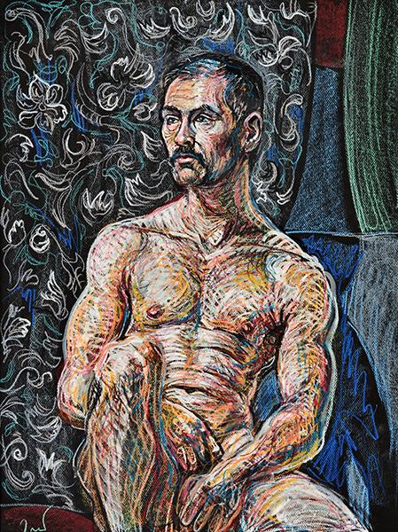 Irishman, 2014, by Fred Hatt
