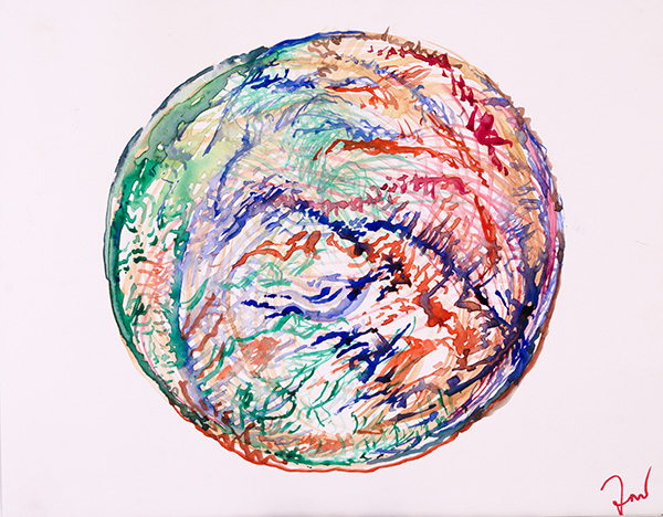 Orb, 2014, by Fred Hatt