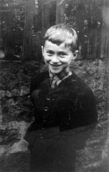 Young Hans Meyer, original photographer unknown, photo of old photo by Kyunghee Kim