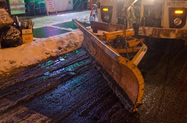 Night Plow, 2014, photo by Fred Hatt