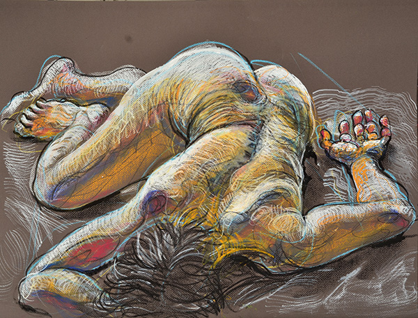 Resting Power 1, 2013, by Fred Hatt