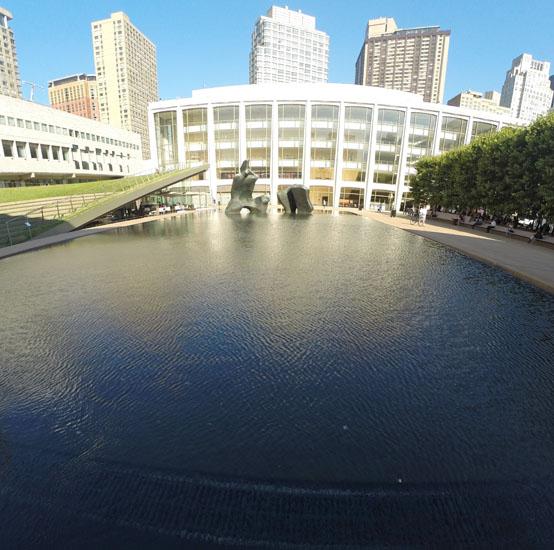 Reflecting Pool, 2014, photo by Fred Hatt