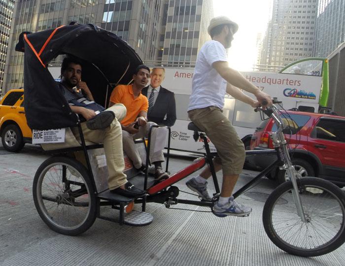 Rickshaw, 2014, photo by Fred Hatt
