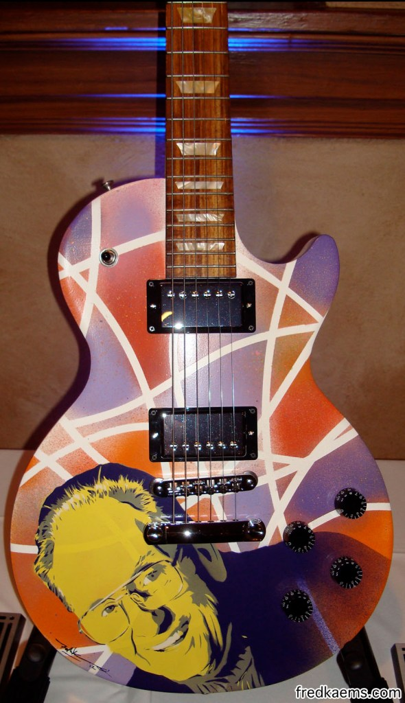 Painted for Waukesha's Guitar Town and Gibson Guitars