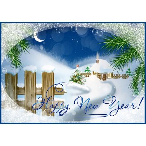 Medium Crop Of New Years Cards