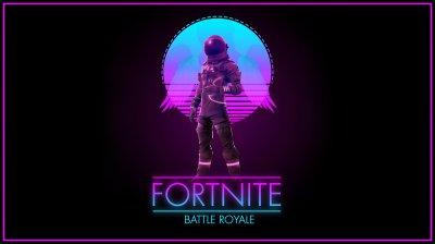 Fortnite - Synthwave Royale 4K wallpaper
