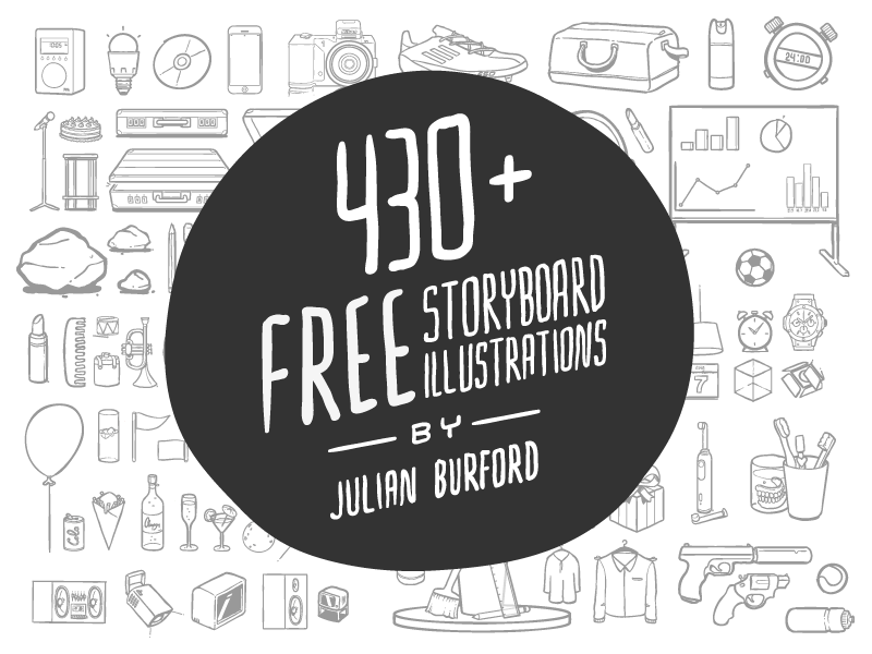 430 Story Board Illustrations