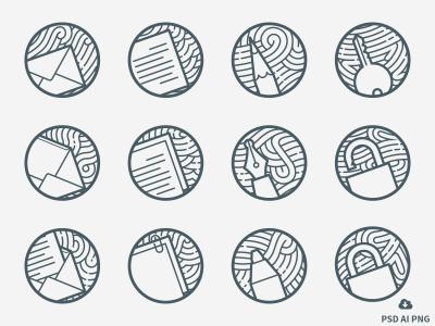 Zen Minimal Outline Icons