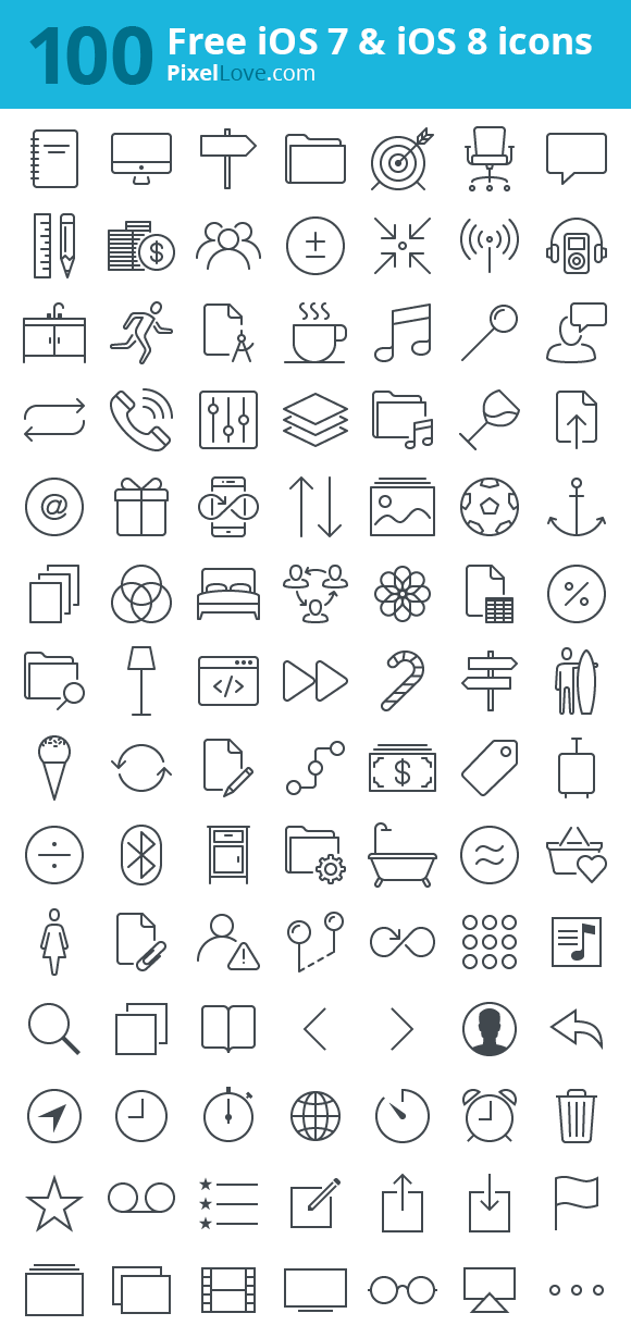 100-free-ios-icons-pin