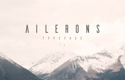 Free Ailerons Typeface