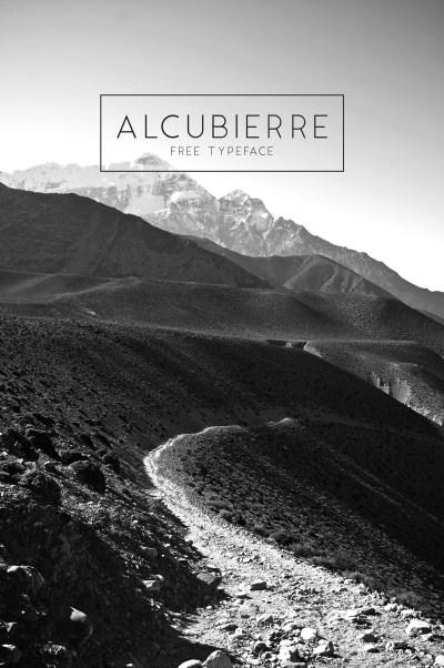 Alcubierre – Free Typeface
