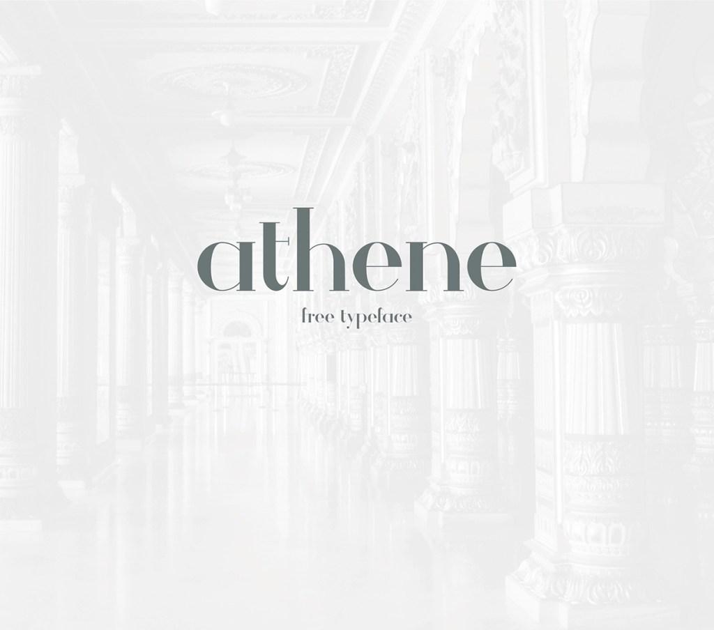 Athene – Free Typeface