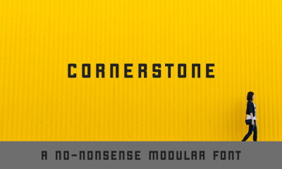 Cornerstone – Free Font