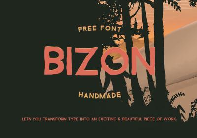 Bizon – Free Font